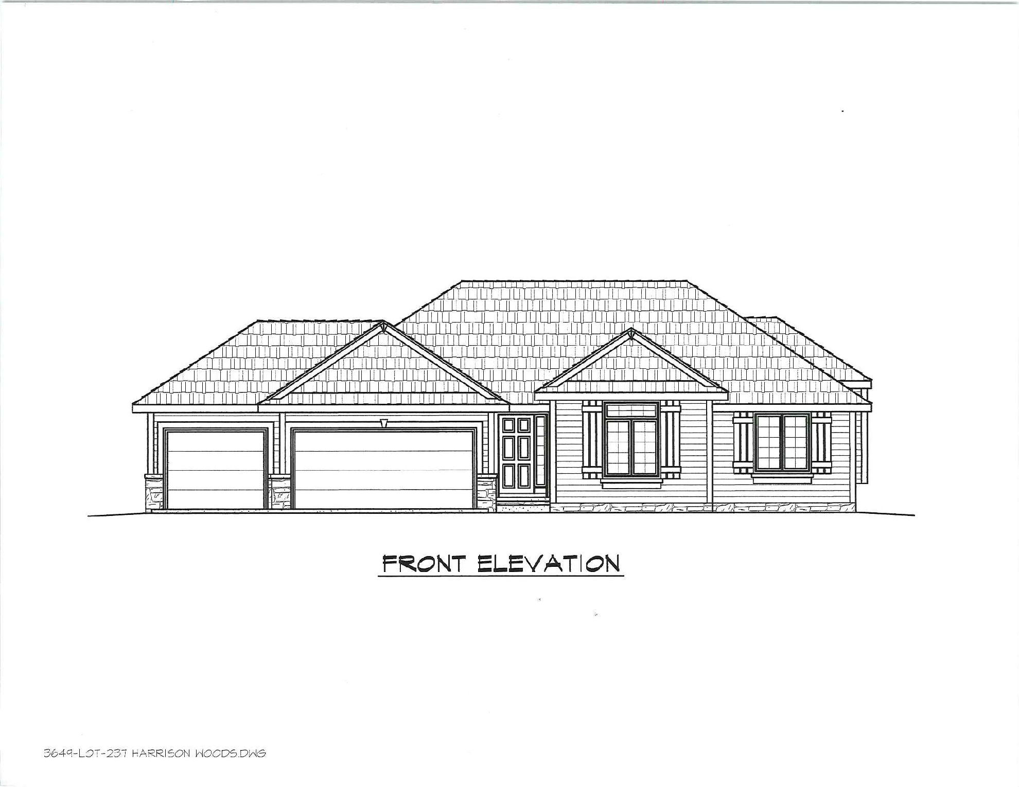 1599 Ranch on Story Plans 4 Bedroom Loft Two 2057