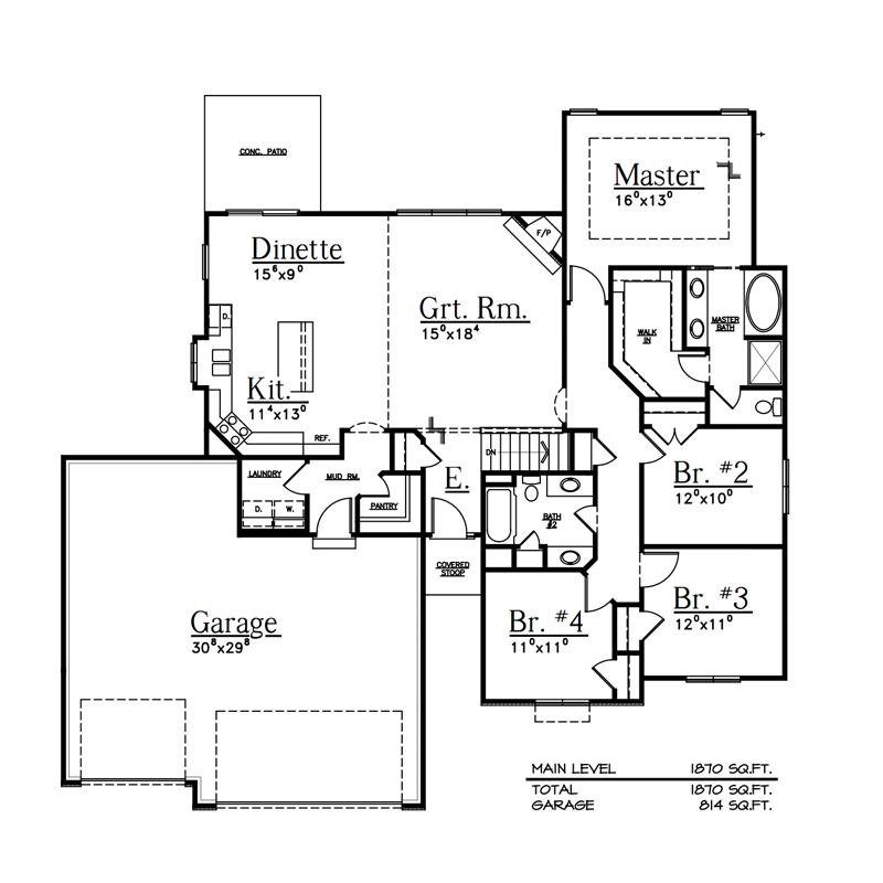 Floor Plans - Dreamscape Homes