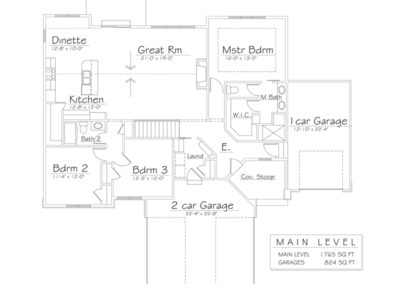 Dreamscape Homes Floor Plan